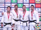 Ivaylo Ivanov (BUL), Ki-Chun Wang (KOR), Joachim Bottieau (BEL), Sergiu Toma (UAE) - Grand Prix Samsun (2016, TUR) - © IJF Media Team, International Judo Federation