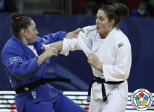 Guusje Steenhuis (NED), Marhinde Verkerk (NED) - Grand Prix Tbilisi (2016, GEO) - © IJF Media Team, International Judo Federation