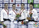 Marhinde Verkerk (NED), Guusje Steenhuis (NED), Mayra Aguiar (BRA), Natalie Powell (GBR) - Grand Prix Tbilisi (2016, GEO) - © IJF Media Team, International Judo Federation