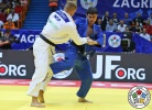 Michael Korrel (NED), Adlan Bisultanov (RUS) - Grand Prix Zagreb (2016, CRO) - © IJF Media Team, International Judo Federation