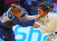 Barbara Timo (POR) - Grand Slam Abu Dhabi (2016, UAE) - © IJF Media Team, International Judo Federation
