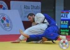 Elkhan Mammadov (AZE) - Grand Slam Abu Dhabi (2016, UAE) - © IJF Media Team, IJF