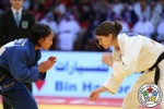 Milica Nikolic (SRB), Otgontsetseg Galbadrakh (KAZ) - Grand Slam Abu Dhabi (2016, UAE) - © IJF Media Team, International Judo Federation