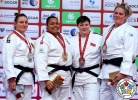 Maria Suelen Altheman (BRA), Carolin Weiss (GER), Maryna Slutskaya (BLR), Santa Pakenyte (LTU) - Grand Slam Abu Dhabi (2016, UAE) - © IJF Media Team, International Judo Federation
