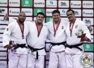 Iakiv Khammo (UKR), Roy Meyer (NED), Barna Bor (HUN), David Moura (BRA) - Grand Slam Baku (2016, AZE) - © IJF Gabriela Sabau, International Judo Federation