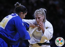 Kayla Harrison (USA) - Grand Slam Paris (2016, FRA) - © IJF Media Team, International Judo Federation