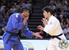 Riki Nakaya (JPN), Sagi Muki (ISR) - Grand Slam Paris (2016, FRA) - © IJF Media Team, IJF