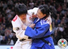 Mami Umeki (JPN), Lkhamdegd Purevjargal (MGL) - Grand Slam Paris (2016, FRA) - © IJF Media Team, International Judo Federation