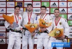 Cyrille Maret (FRA), Kyle Reyes (CAN), Karl-Richard Frey (GER), Aaron Wolf (JPN) - Grand Slam Paris (2016, FRA) - © JudoInside.com, judo news, results and photos