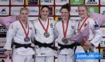 Mayra Aguiar (BRA), Kayla Harrison (USA), Luise Malzahn (GER), Natalie Powell (GBR) - Grand Slam Paris (2016, FRA) - © JudoInside.com, judo news, results and photos