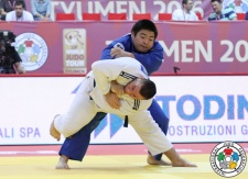 Takeshi Ojitani (JPN) - Grand Slam Tyumen (2016, RUS) - © IJF Media Team, International Judo Federation