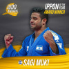 Sagi Muki (ISR) - Photos with JudoInside news (2016, NED) - © IJF Media Team, International Judo Federation
