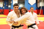 Rustam Orujov (AZE), Hidayat Heydarov (AZE) - Photos with JudoInside news (2016, NED) - © Sent by athlete
