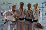 Lucile Duport (FRA), Lorayna Ferreira Costa (BRA), Marine Lhenry (FRA), Melodie Vaugarny (FRA) - African Open Casablanca (2017, MAR) - © African Judo Union