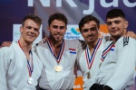 Junior Degen (NED), Wytze De Jong (NED), Tom Meulensteen (NED), Kevin Bakker (NED) - Dutch Championships Almere (2017, NED) - © Judo Bond Nederland