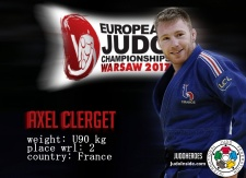 Axel Clerget (FRA) - European Championships Warsaw (2017, POL) - © JudoHeroes & IJF Media, Copyright: www.ijf.org