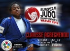 Clarisse Agbegnenou (FRA) - European Championships Warsaw (2017, POL) - © JudoHeroes & IJF, Copyright: www.ijf.org