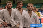 Abas Azizov (RUS), Lechi Ediev (RUS), Yakub Shamilov (RUS) - European Club Championships Wuppertal men (2017, GER) - © JudoInside.com, judo news, results and photos