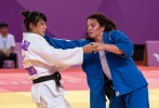 Saki Niizoe (JPN), Barbara Timo (POR) - FISU Universiade Taipei (2017, TPE) - © IJF Media Team, International Judo Federation