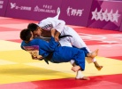 Rustam Ibrayev (KAZ), Myagmardorj Batgerel (MGL) - FISU Universiade Taipei (2017, TPE) - © IJF Media Team, International Judo Federation