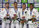 Tal Flicker (ISR), Alberto Gaitero (ESP), Nabor Castillo (MEX), Juan Postigos (PER) - Grand Prix Cancun (2017, MEX) - © IJF Media Team, International Judo Federation