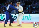 Martyna Trajdos (GER), Clarisse Agbegnenou (FRA) - Grand Prix Düsseldorf (2017, GER) - © IJF Media Team, International Judo Federation
