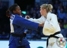 Clarisse Agbegnenou (FRA), Martyna Trajdos (GER) - Grand Prix Düsseldorf (2017, GER) - © IJF Media Team, International Judo Federation