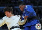 Mami Umeki (JPN), Madeleine Malonga (FRA) - Grand Prix Düsseldorf (2017, GER) - © IJF Media Team, International Judo Federation