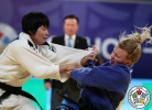 Hyo Sun Ri (PRK), Jessica Klimkait (CAN) - Grand Prix Hohhot (2017, CHN) - © IJF Media Team, International Judo Federation