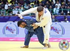 Or Sasson (ISR), Iurii Krakovetskii (KGZ) - Grand Prix Tashkent (2017, UZB) - © IJF Media Team, IJF