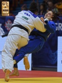 Fanny Estelle Posvite (FRA) - Grand Prix Zagreb (2017, CRO) - © IJF Media Team, International Judo Federation