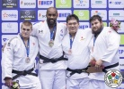 Teddy Riner (FRA), Stephan Hegyi (AUT), Daiki Kamikawa (JPN), Vladut Simionescu (ROU) - Grand Prix Zagreb (2017, CRO) - © IJF Media Team, International Judo Federation