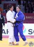 Guusje Steenhuis (NED), Marhinde Verkerk (NED) - Grand Slam Baku (2017, AZE) - © IJF Media Team, IJF