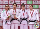 Chen-Ling Lien (TPE), Jovana Rogic (SRB), Julia Kowalczyk (POL), Timna Nelson Levy (ISR) - Grand Slam Baku (2017, AZE) - © IJF Media Team, International Judo Federation