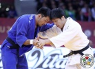 Riki Nakaya (JPN), Odbayar Ganbaatar (MGL) - Grand Slam Baku (2017, AZE) - © IJF Media Team, International Judo Federation
