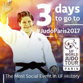 Tina Trstenjak (SLO) - Grand Slam Paris (2017, FRA) - © IJF Media Team, International Judo Federation
