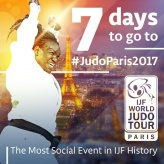 Emilie Andeol (FRA) - Grand Slam Paris (2017, FRA) - © IJF Media Team, International Judo Federation