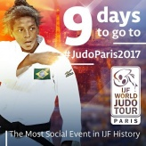 Rafaela Silva (BRA) - Grand Slam Paris (2017, FRA) - © IJF Media Team, International Judo Federation