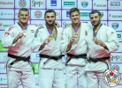 Varlam Liparteliani (GEO), Michael Korrel (NED), Miklós Cirjenics (HUN), Elkhan Mammadov (AZE) - IJF World Masters St. Petersburg (2017, RUS) - © IJF Media Team, International Judo Federation