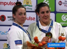 Marhinde Verkerk (NED), Guusje Steenhuis (NED) - Grand Prix The Hague (2017, NED) - © JudoInside.com, judo news, results and photos