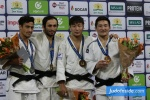 Bekir Ozlu (TUR), Ashley McKenzie (GBR), Amartuvshin Bayaraa (MGL), Amartuvshin Dashdavaa (MGL) - Grand Prix The Hague (2017, NED) - © JudoInside.com, judo news, results and photos