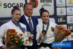 Theresa Stoll (GER), Amelie Stoll (GER) - Grand Prix The Hague (2017, NED) - © JudoInside.com, judo news, results and photos