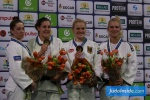 Guusje Steenhuis (NED), Marhinde Verkerk (NED), Luise Malzahn (GER), Karen Stevenson (NED) - The Hague Grand Prix (2017, NED) - © JudoInside.com, judo news, photos, videos and results
