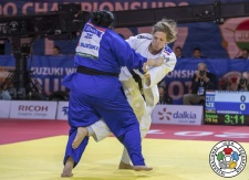 Tessie Savelkouls (NED) - World Championships Budapest (2017, HUN) - © IJF Media Team, IJF