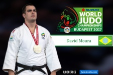 David Moura (BRA) - World Championships Budapest (2017, HUN) - © IJF Media Team, IJF