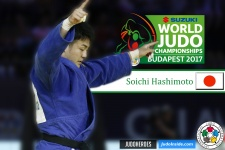 Soichi Hashimoto (JPN) - World Championships Budapest (2017, HUN) - © IJF Media Team, International Judo Federation