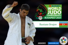 Rustam Orujov (AZE) - World Championships Budapest (2017, HUN) - © IJF Media Team, International Judo Federation