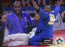 Teddy Riner (FRA),  SELF CONTROL (IJF) - World Championships Budapest (2017, HUN) - © JudoHeroes & IJF, Copyright: www.ijf.org