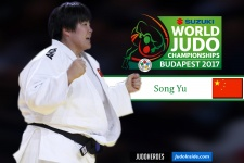 Song Yu (CHN) - World Championships Budapest (2017, HUN) - © IJF Media Team, IJF