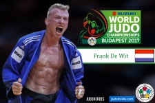 Frank De Wit (NED) - World Championships Budapest (2017, HUN) - © IJF Media Team, International Judo Federation